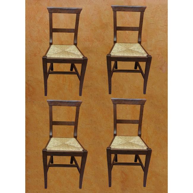 4 sedie in rovere for 4 sedie in offerta